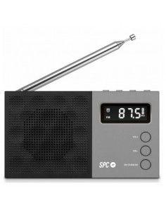 Radio SPC 4577N FM LCD Negro